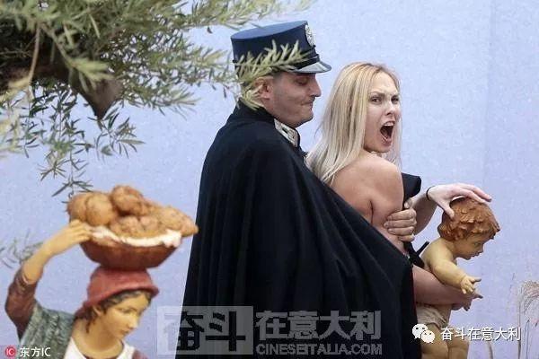 """重庆时时彩官方手机版:梵蒂冈:女权主义者裸身大喊""""上帝是女人"""""""
