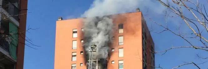 手机幸运飞艇开奖记录:米兰一栋住宅楼失火