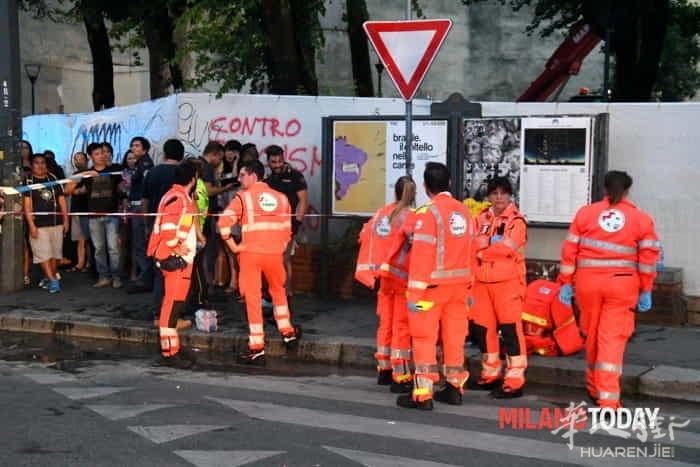 Incendio in via Padova vigili fuoco e ambulanza - Bennati (1).jpeg