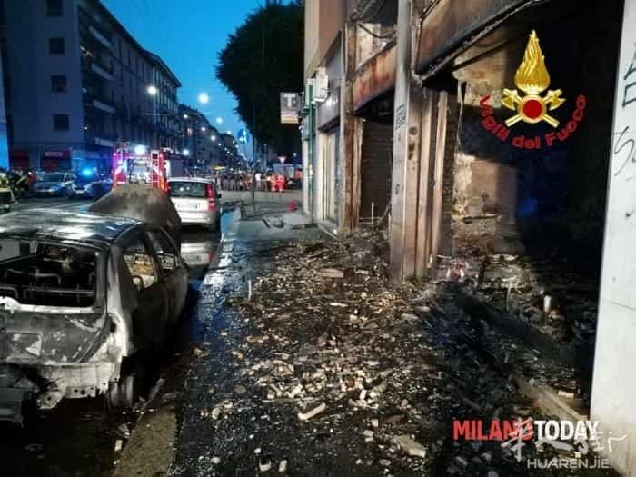 Incendio via Padova (VVFF) 3.jpg