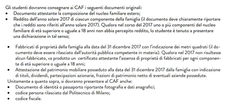 干货:我们该怎么申请意大利奖学金? 生活百科 第3张