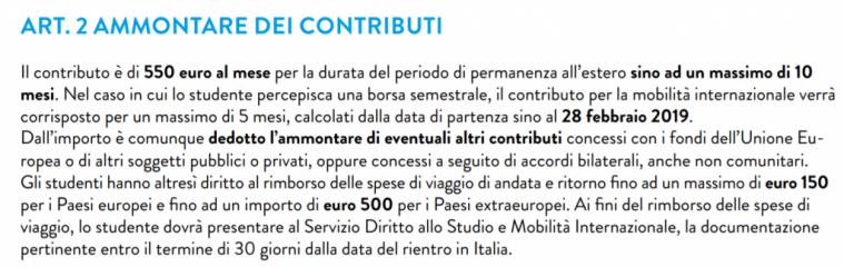 干货:我们该怎么申请意大利奖学金? 生活百科 第12张