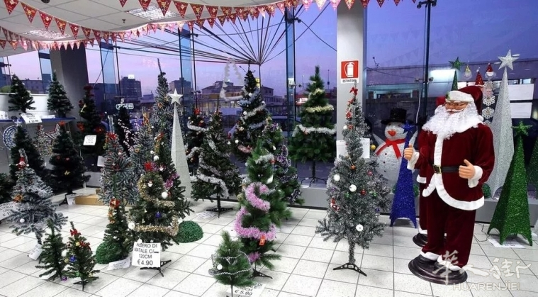 特雷维索华人百货店被查扣大量圣诞灯饰及罚款9千多