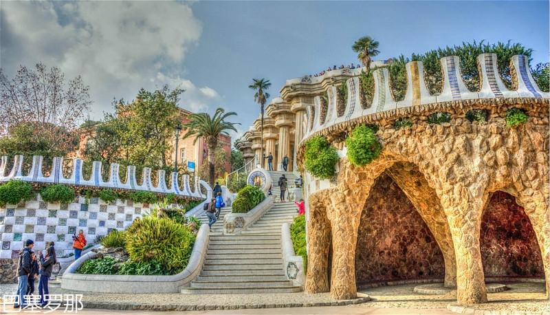 Gaudi-Architecture-Spain-Barcelona-Guell-Park-1160382_meitu_5.jpg