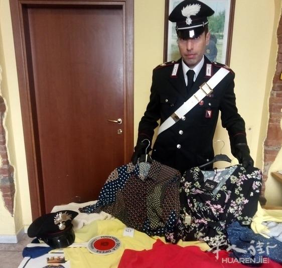 意大利男子屡次在华人企业里偷窃被抓获
