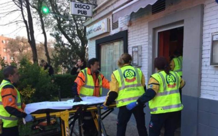 一名男子在马德里酒吧被枪击,受伤严重