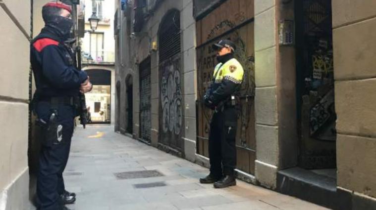 近三年来,巴塞罗那的犯罪率增长了25%