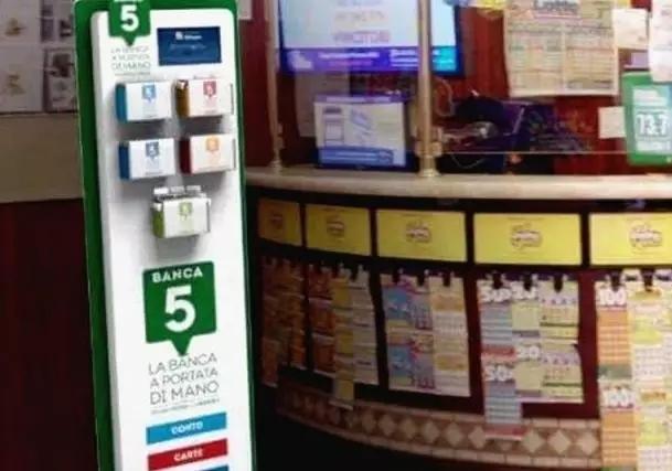 中国技术推进革新:意大利烟草店增设银行取钱服务