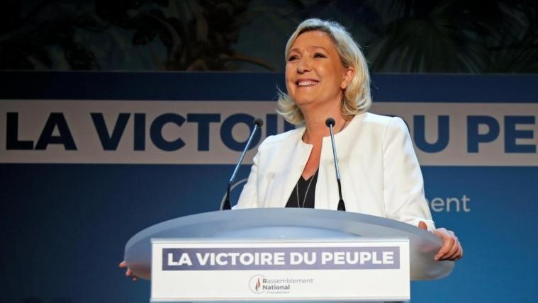 欧洲议会选举投票率创20年新高 勒庞呼吁建立强大极右翼势力 ...
