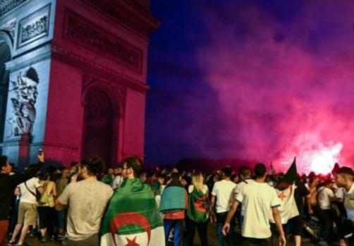 """非洲杯""""庆祝""""乱象:巴黎两商店被抢砸"""