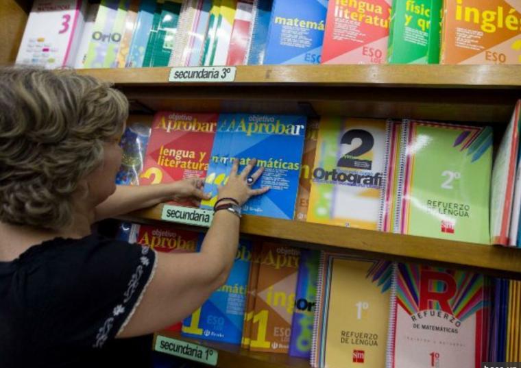 下學年,馬德里所有的公立學校和一半的音樂中心將免費發放教科書 ...