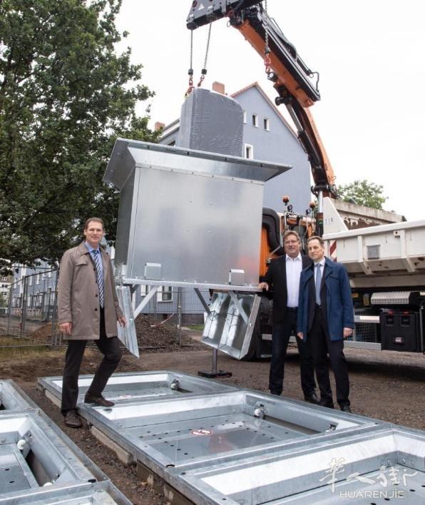 汉诺威Vahrenwald建立地下垃圾处理设备