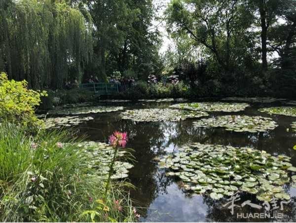 莫奈花园风景