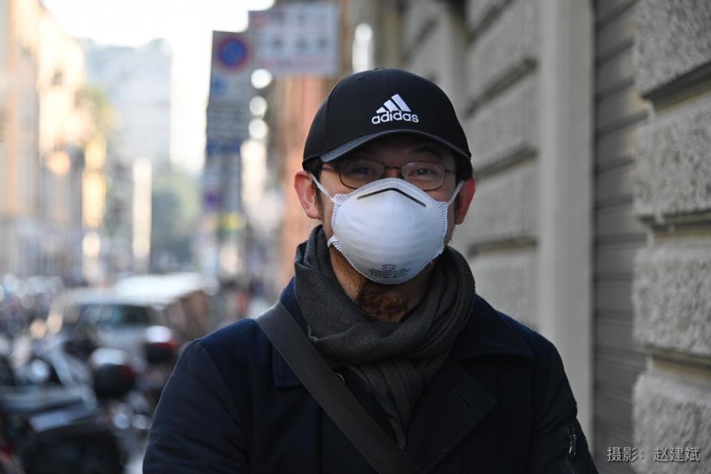 用影像记录疫情:2月24日下午的米兰华人街