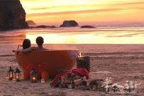 """野营也要泡澡 荷兰浴缸让你随身携带""""私人温泉"""""""