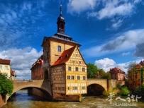 班贝格,德国最美丽城市之一。