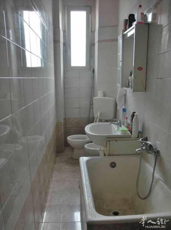 阳台洗手间装修效果图