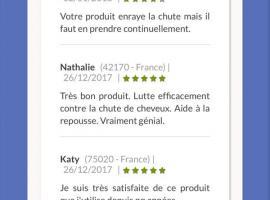 法国有机脱发产品  有机脱发产品它是有7种植物制作