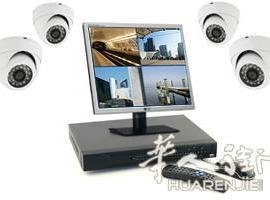 欧华专业网络监控-LED大屏幕-卡拉OK-音响系统安装