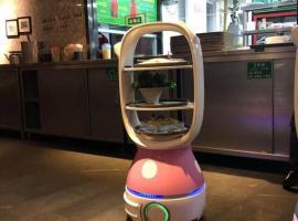 。出售餐馆智能点餐桌子酒吧智能桌子餐馆送菜机器人