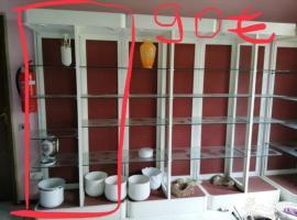 店面家用玻璃柜出售 请联系有意者!
