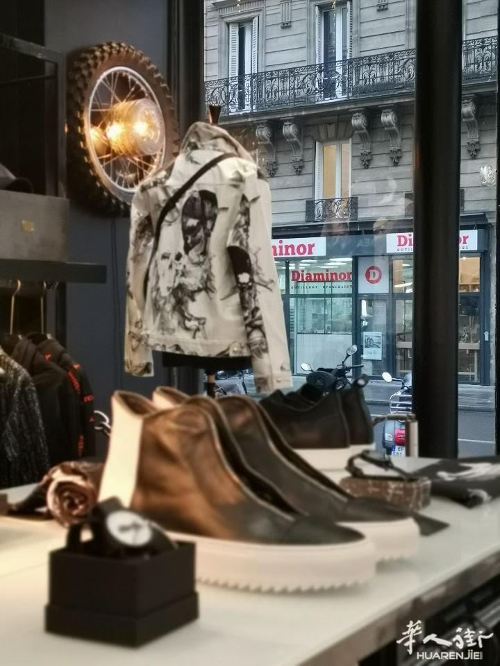 巴黎9区近老佛爷41平好店转让 其他行业,代理中介,服饰鞋包,店铺转让,地理位置 第2张图片