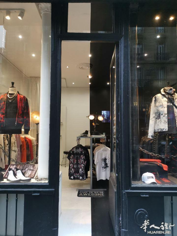 巴黎9区近老佛爷41平好店转让 其他行业,代理中介,服饰鞋包,店铺转让,地理位置 第9张图片