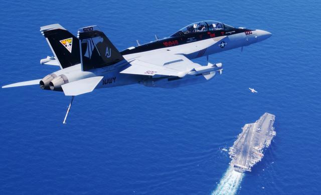 资料图:美军咆哮者电子战飞机