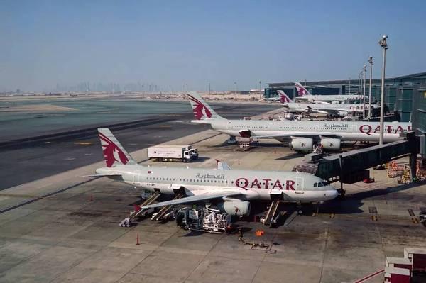 再伸援手!伊朗允许卡塔尔航空借道领空执飞航班