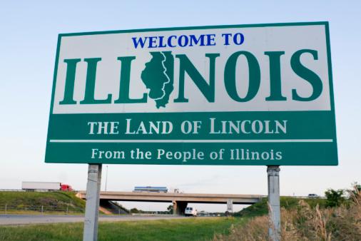 美国伊利诺伊州面临破产 还有10个州也悬