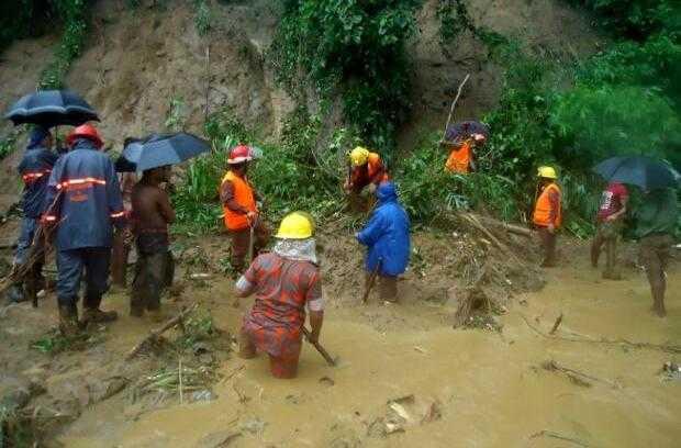 孟加拉发生史上最严重泥石流 152人死亡