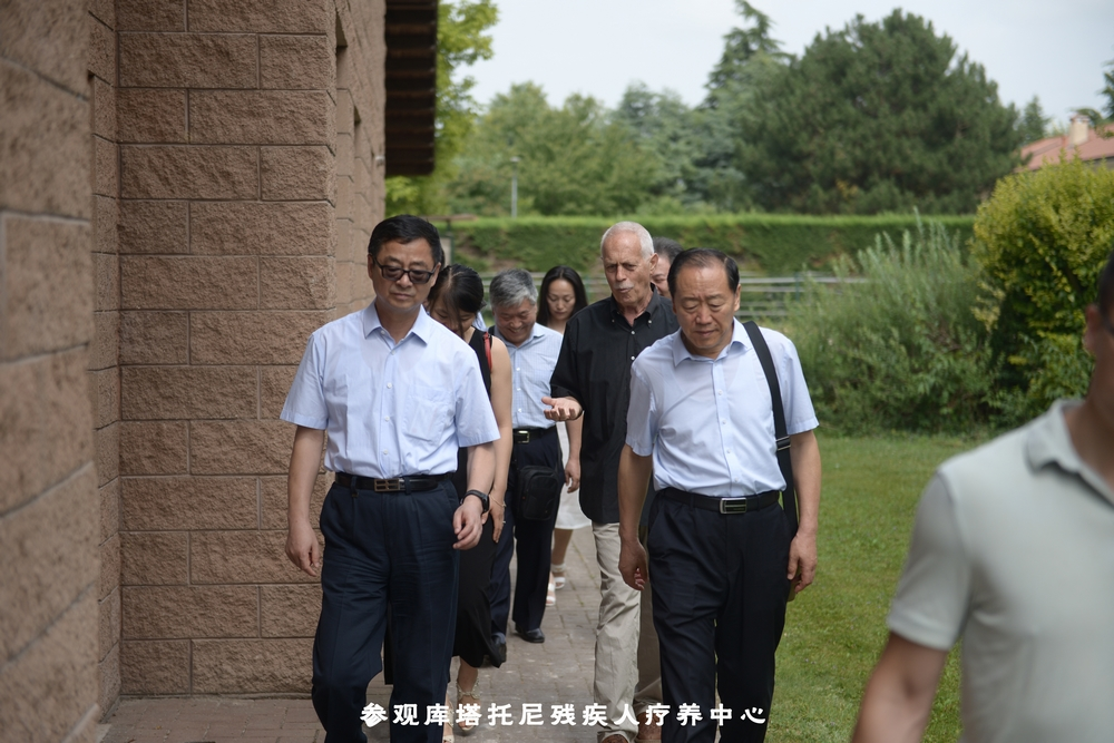 高卫东率山西省政府人大代表团访问意大利