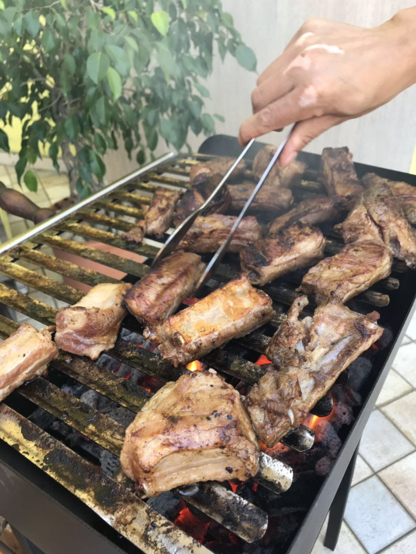 米兰文成同乡会举办庆中秋郊游烧烤活动