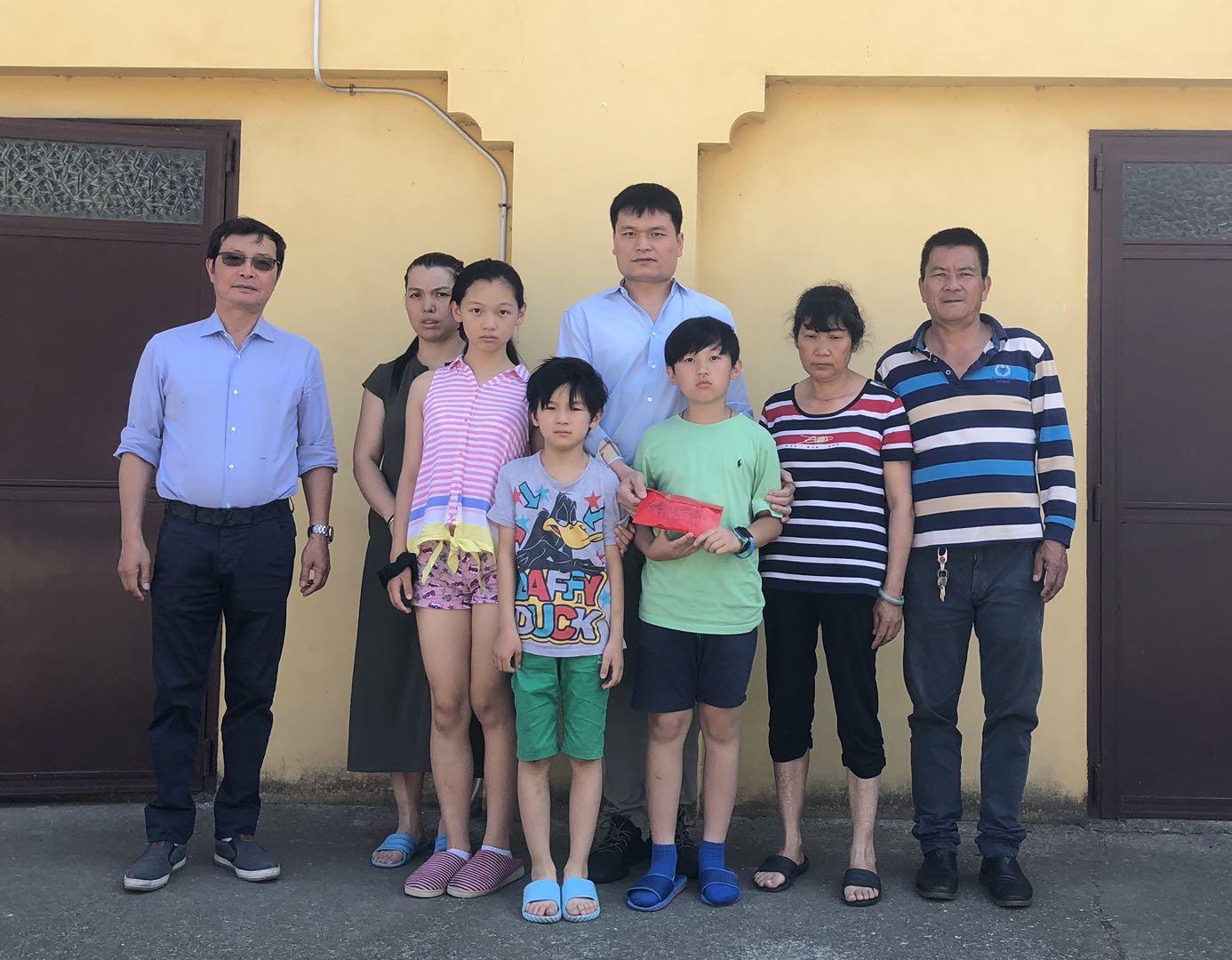 布雷西亚华人商会为了不幸同胞洪敏的家属积极募捐
